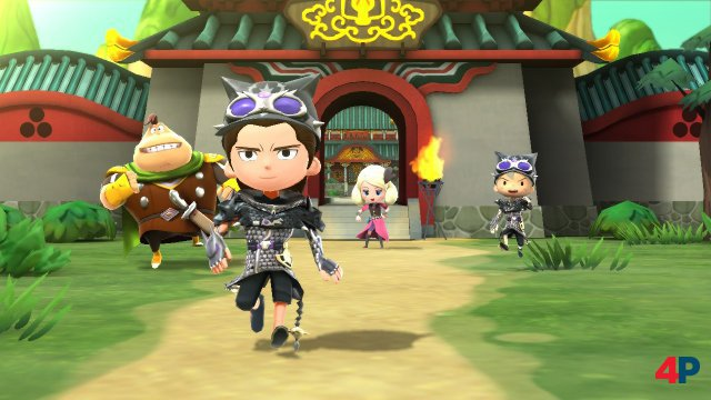 Screenshot - Snack World: Die Schatzjagd - Gold (Switch)