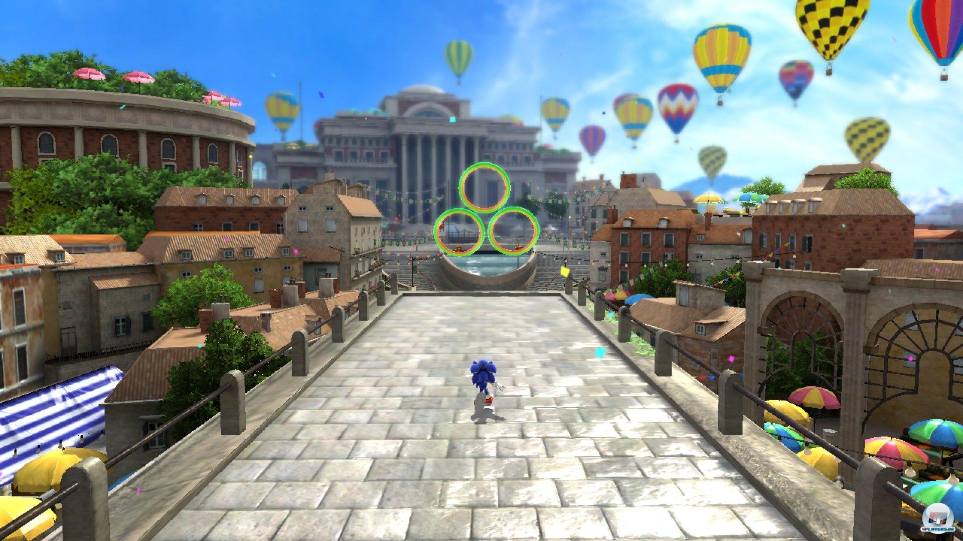 Selbst die 3D-Levels sind im Grunde zweidimensionale Angelegenheiten - die offenen »Abenteuer«-Geschichten der Dreamcast-Ära gehören der Vergangenheit an.