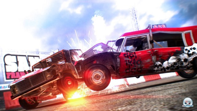 In den Crash-Events sitzt man in Boliden ohne Lizenz.