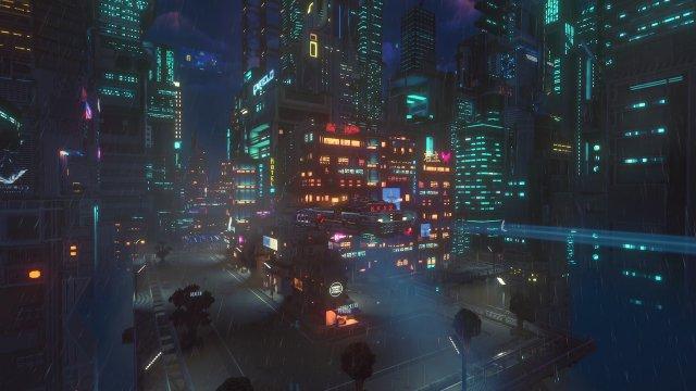 Screenshot - Cloudpunk (PC, PS4, Switch, One)