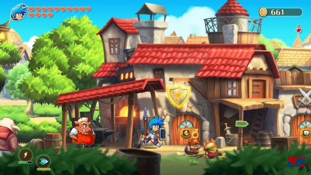 Screenshot - Monster Boy und das Verfluchte Königreich (PC) 92579721