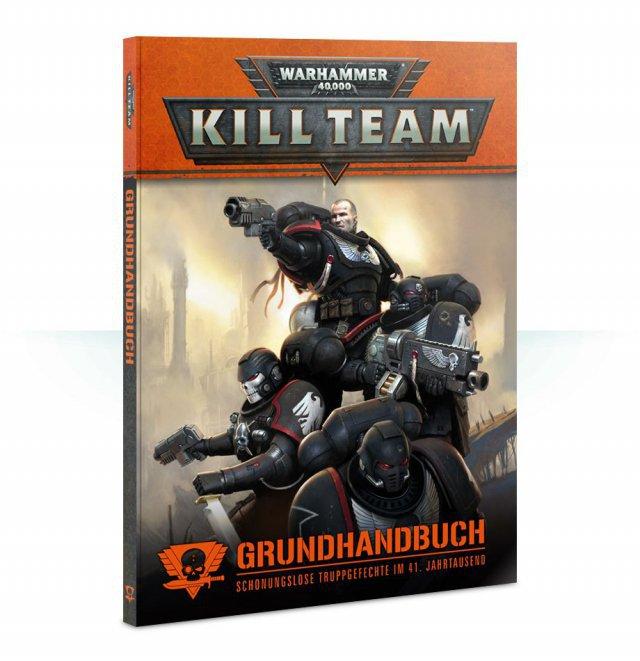 Warhammer 40.000: Kill Team ist komplett auf Deutsch bei Games Workshop erschienen und für zwei bis vier Spieler konzipiert. Eine Box mit sechs Figuren, Gelände & Co kostet knapp 50 Euro; das Grundhandbuch liegt bei knapp 30 Euro.