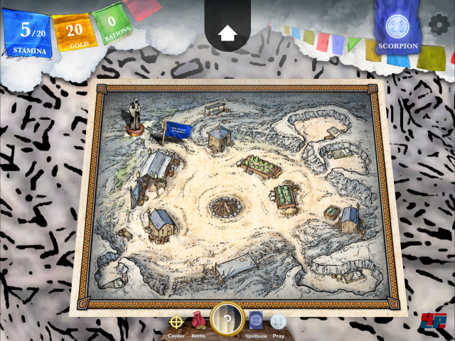 Screenshot - Sorcery! 4- The Crown of Kings (iPad) 92535361