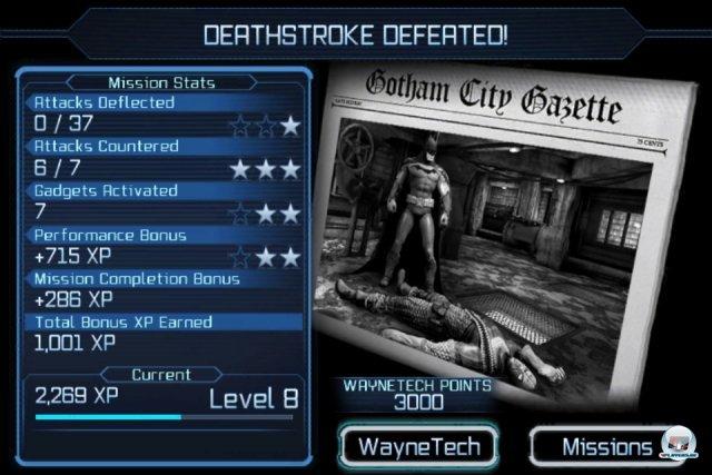 Screenshot - Batman: Arkham City Lockdown (iPhone) 2298452