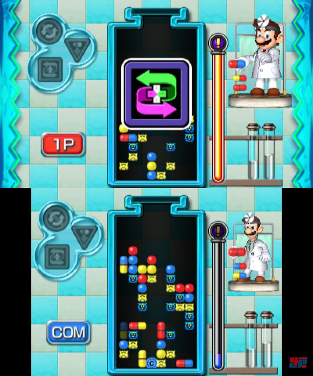 Screenshot - Dr. Mario: Miracle Cure (3DS)