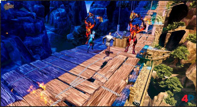Screenshot - Runner Heroes: The Curse of Night and Day (PC)