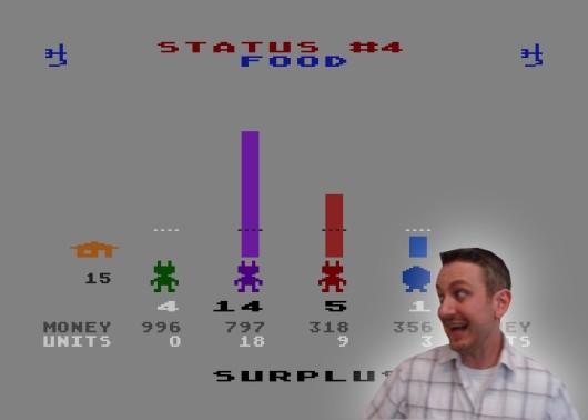 Ich würde mich tierisch auf ein Remake des C64-Klassikers M.U.L.E. freuen - mein absoluter All-Time-Favorite, was Multiplayerspiele anbelangt! Am besten als kostengünstiger Xbox Live Arcade-Titel mit Online-Modus, HD-Optik und Visioncam-Support. Schließlich will man ja beim Feilschen um dringend benötigte Rohstoffe sehen, wie ernst es seinem Gegenüber damit ist. 1710263