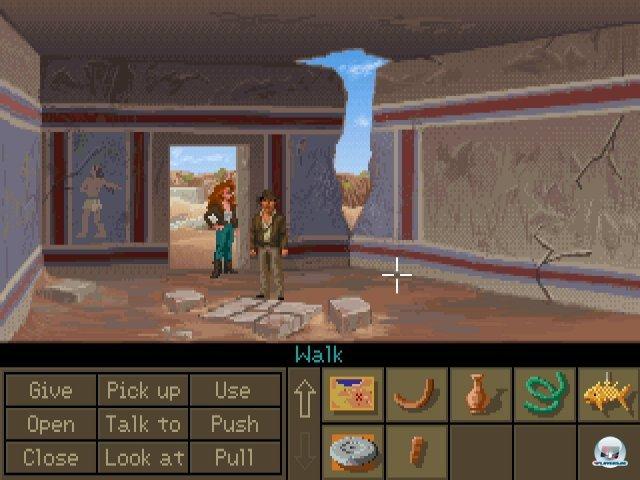 Screenshot - Indiana Jones and the Fate of Atlantis (PC) 2283627