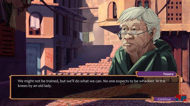 Screenshot - City of the Shroud (Mac)