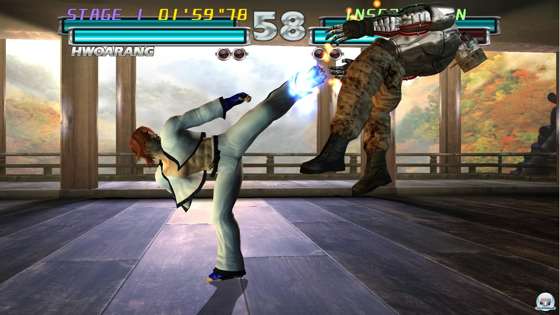 Das Beste an Tekken Hybrid ist die HD-Version von Tekken Tag Tournament: Grafisch zwar mittlerweile harter Tobak, spielerisch aber nach wie vor ein großer Spaß.