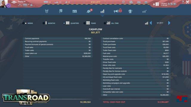 Screenshot - TransRoad: USA (Mac) 92554011