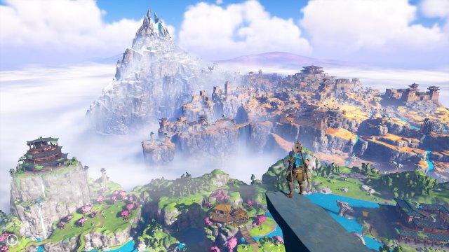 Buchstäblich sagenhaft: Auch die Erweiterung bietet eine traumhafte Spielwelt, die man als Videospieler unbedingt erkunden möchte.