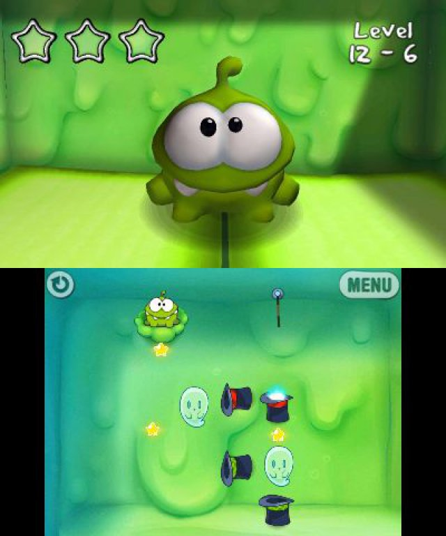 Screenshot - Cut the Rope: Triple Treat (3DS)