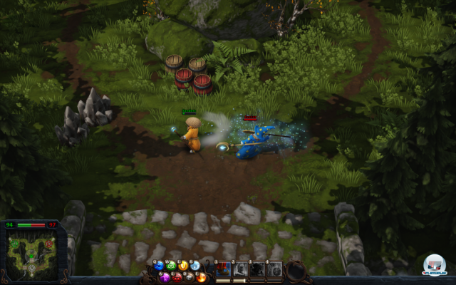 Screenshot - Magicka: Wizard Wars (PC)