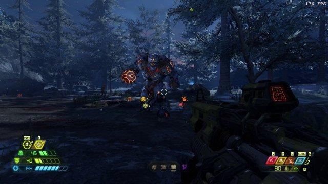Der gepanzerte Baron ist ein neuer , ziemlich tougher Feind.