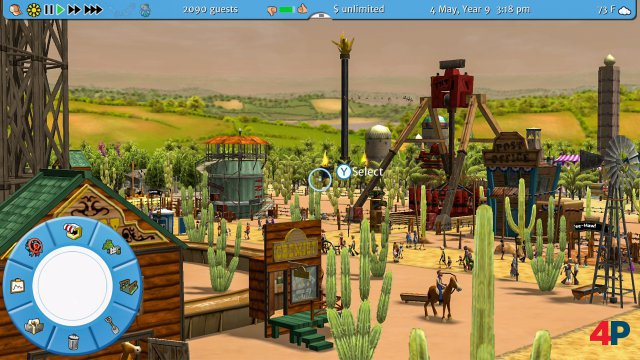 Screenshot - RollerCoaster Tycoon 3: Complete Edition (Switch) 92623662
