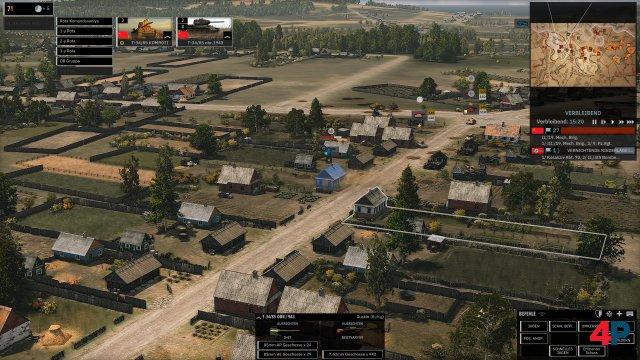 Ländliches Idyll: Oft stehen Dörfer und Kleinstädte im Zentrum der Gefechte.