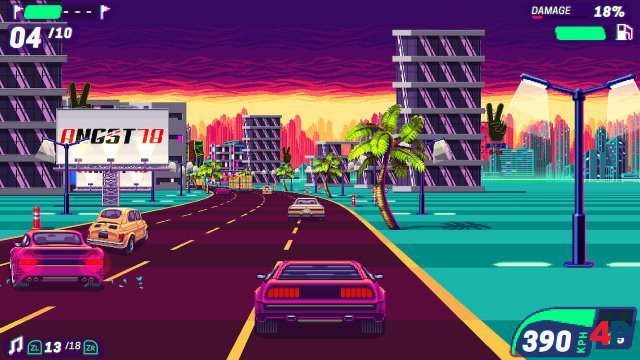 Screenshot - 80's Overdrive (Switch) 92612847