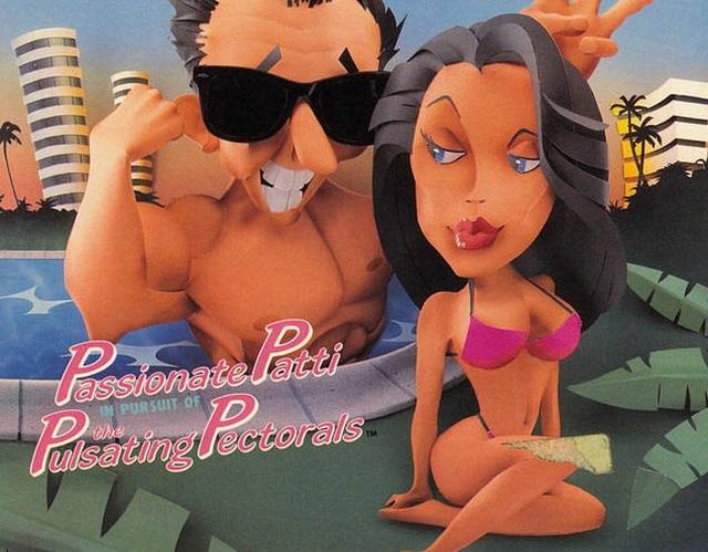 Passionate Patti <br><br> Böse Zungen behaupten ja, dass sich Passionate Patti nach ihrem relativ kurzen Auftritt in Leisure Suit Larry III hoch geschlafen hat, um im Nachfolger einen wesentlich größeren Part zu bekommen. Der Plan ging auf: Nach dem Schäferstündchen im dritten Teil spielte man in Leisure Suit Larry V: Passionate Patti Does a Little Undercover Work fast 50 Prozent des Spiels die gewiefte Brünette.    2147028
