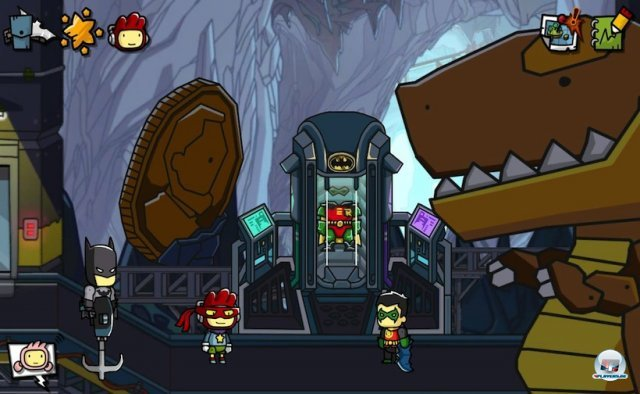 Screenshot - Scribblenauts Unmasked: A DC Comics Adventure (3DS)