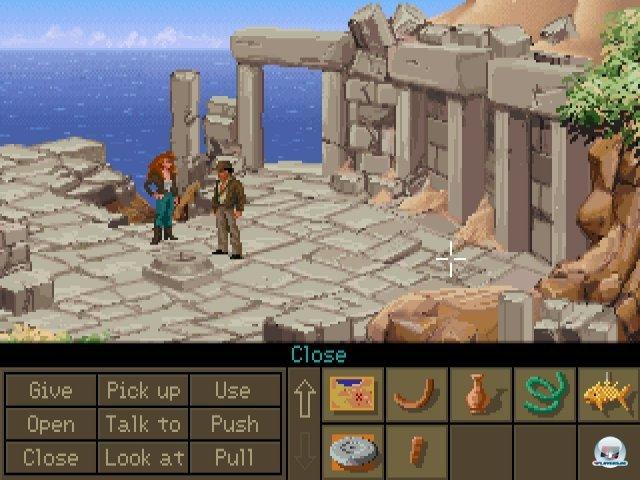 Screenshot - Indiana Jones and the Fate of Atlantis (PC) 2283622