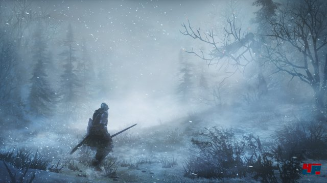 Der Winter naht nicht - er ist da: Ashes of Ariandel begrüßt euch mit Eis und Frost.