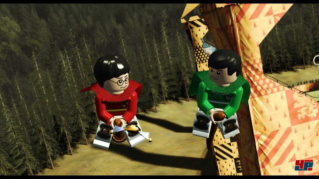 Natürlich wird auch in Lego-Form gequiddicht.