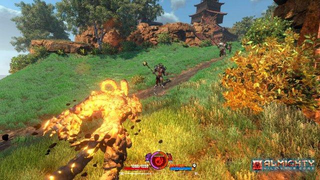 Screenshot - Almighty: Kill Your Gods (PC)