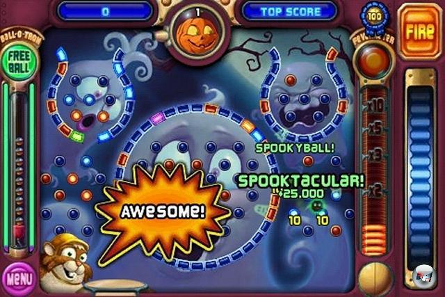 <b>Bestes schwer in eine Kategorie zu packendes Spiel: Peggle</b><br><br>Oh ja, wir haben der 360-Umsetzung fette 90% verpasst. Und die gerade veröffentlichte Version für iPhone und iPod touch ist verdammt, wirklich verdammt nah dran an dieser Perfektion! <br><br>Ebenfalls empfehlenswert: Alphabetic, Rainbow Ninja, Art Memory, Frenzic, Sneezies, Enigmo, Pinball Dreaming: Pinball Dreams, Zen Bound<br><br> 1950748
