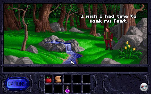 <b>Legend of Kyrandia</b><br><br>In den 90ern gab es zwar viele beherzte Versuche, aber so richtig konnte niemand gegen das Adventure-Bollwerk, bestehend aus Lucas Arts und Sierra, ankommen. Einer der hartnäckigsten Emporkömmlinge hatte mit Adventures ursprünglich gar nichts am Hut: Westwood war mehr mit Echtzeitstrategie-Genre beheimatet, wofür Dune 2- und Command&Conquer-Spieler auch durchaus dankbar waren. Und dennoch bekamen die in Las Vegas ansässigen Entwickler mit der »The Legend of Kyrandia«-Trilogie ganz wunderbare, elegant designte und teilweise herrlich alberne Point-n-Klick-Abenteuer gebacken. Mehr davon! Es gibt viel zu wenig Spiele mit Klimperkopp-Narren! 1966078