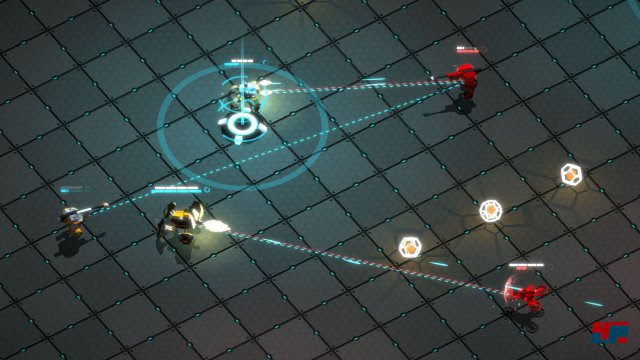 Screenshot - Gladiabots (Android)