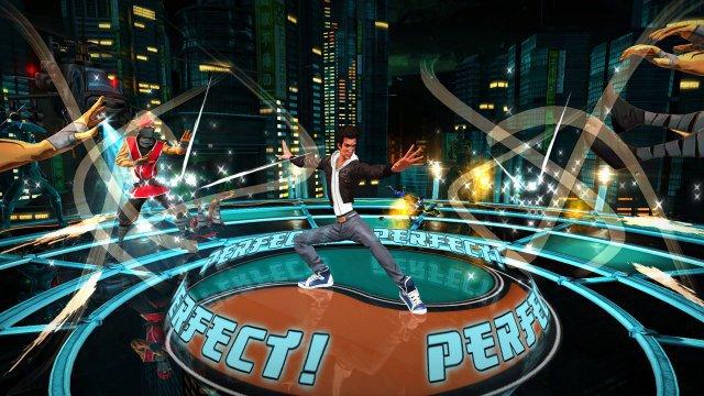"""Hinter der prügelnden Oberfläche verbirgt sich ein """"normales"""" Rhythmus-Spiel mit soliden Mechaniken und coolem Soundtrack."""