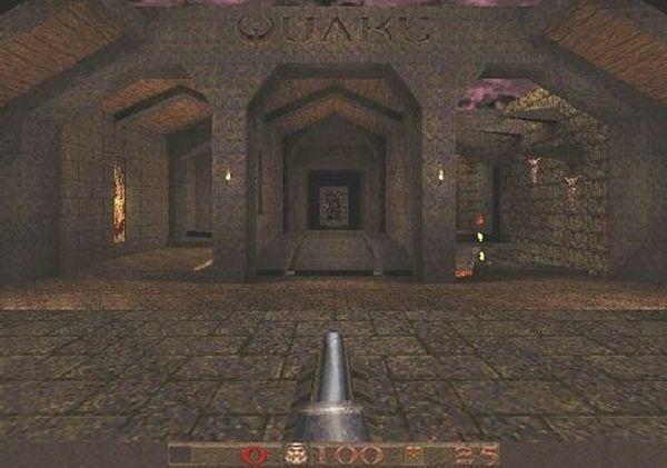 Quake<br><br>1996 gab es erstmals »echte« 3D-Grafik in einem Egoshooter zu bestaunen: Keine pixeligen Sprites, sondern weich animierte Polygonmonster lechzten nur danach, Opfer eurer Nailgun zu werden! Brillantes Leveldesign, ein großartiger Soundtrack von Nine Inch Nails-Frontmann Trent Reznor und wegweisende Technik, die seinerzeit übrigens Besitzer eines Standard-PCs in den ruckelbasierten Hardwarekaufwahn stürzte, sorgten für eine gigantische Fangemeinde, zementierten id Softwares Ruf als Shooter-Genies - und erfanden das Shootergenre mal wieder neu. Auch die Gerüchte, dass die seinerzeit gerade aufkeimenden 3Dfx-Karten hauptsächlich aufgrund des von id Software kurz nach dem Release von Quake veröffentlichten GLQuake-Patches ein Wahnsinnserfolg wurden, halten sich ebenfalls nach wie vor hartnäckig. Kein Wunder, dass Quake auch heute noch mit technisch teilweise unglaublichen Mods am Leben erhalten und immer wieder gespielt wird. 1718116