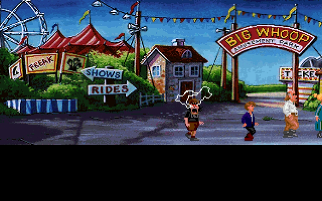 <i>The Secret of Monkey Island 2: LeChuck's Revenge</i><br><br>LeChuck ist Guybrush Threepwoods Bruder Chuckie! 1743873