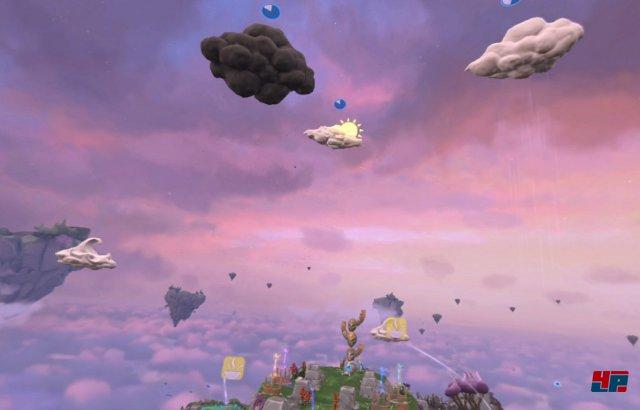 Auch die Wetterwolken müssen strategisch miteinander kombiniert werden, um Vorteile zu erhalten.