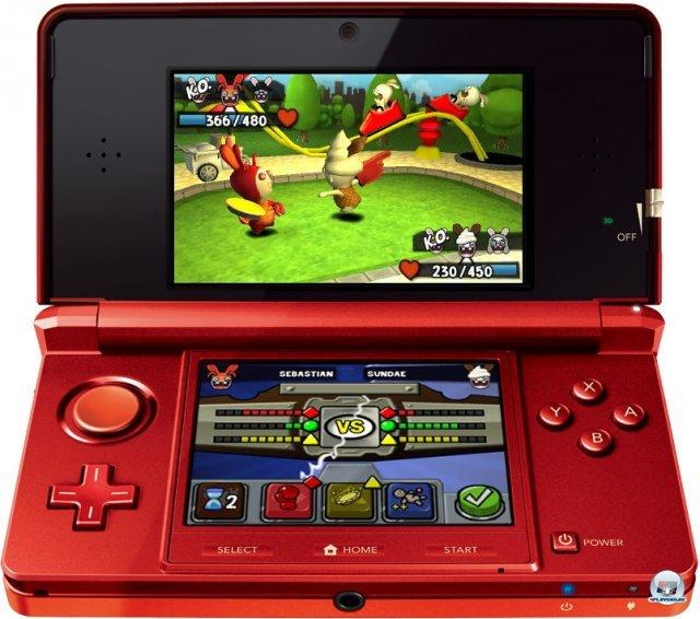 Screenshot - Rabbids Rumble (3DS)