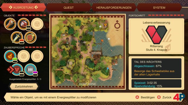 Screenshot - Oceanhorn 2: Knights of the Lost Realm (Switch) 92628172