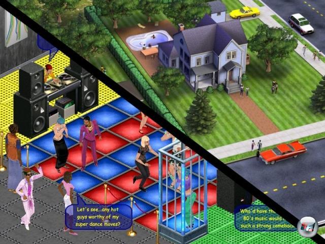 Allerdings war nicht alles, was »Sims« im Namen trug, automatisch ein Garant für zwei Tonnen Geldscheine. Projekte wie SimsVille (in dem man in Sims-Manier mehrere Häuser unter seiner Kontrolle zu halten versuchte) oder The Sims Online wurden entweder mitten in der Entwicklung dicht gemacht oder erwiesen sich als kapitale Flops. Ebenfalls eine Tatsache, die die Entwickler kaum zu Freudensprüngen animieren dürfte: Die Spiele der Sims-Reihe führen in regelmäßigen Abständen die Raubkopien-Charts an. 2055578