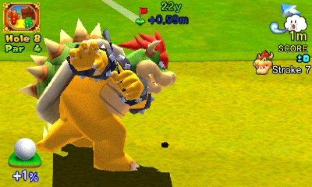 Screenshot - Mario Golf: World Tour (3DS)
