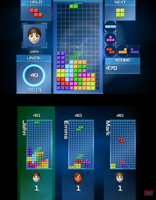 Screenshot - Tetris Ultimate (3DS)