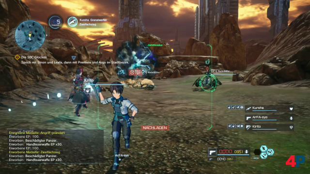 Screenshot - Sword Art Online: Fatal Bullet (Switch) 92593808
