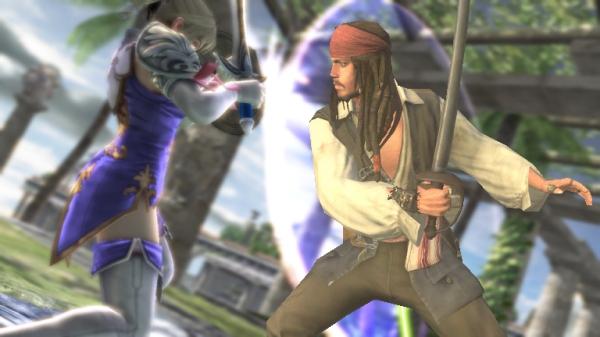 Jack Sparrow<br><br>Captain Sparrow vereint gleich mehrere Vorteile in sich: Er beherrscht die hohe Kunst des Drunken Säbeling, die in für das ungetrübte Auge schwer erwischbar macht. Außerdem steht er dauernd wieder von den Toten auf, gerade in einem Prügelspiel ein unschätzbarer Vorteil! 1742258