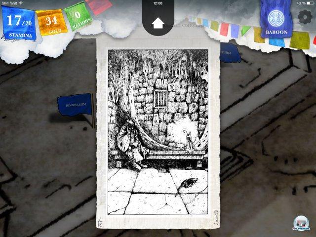Screenshot - Sorcery! - Teil 2 (iPad) 92471930