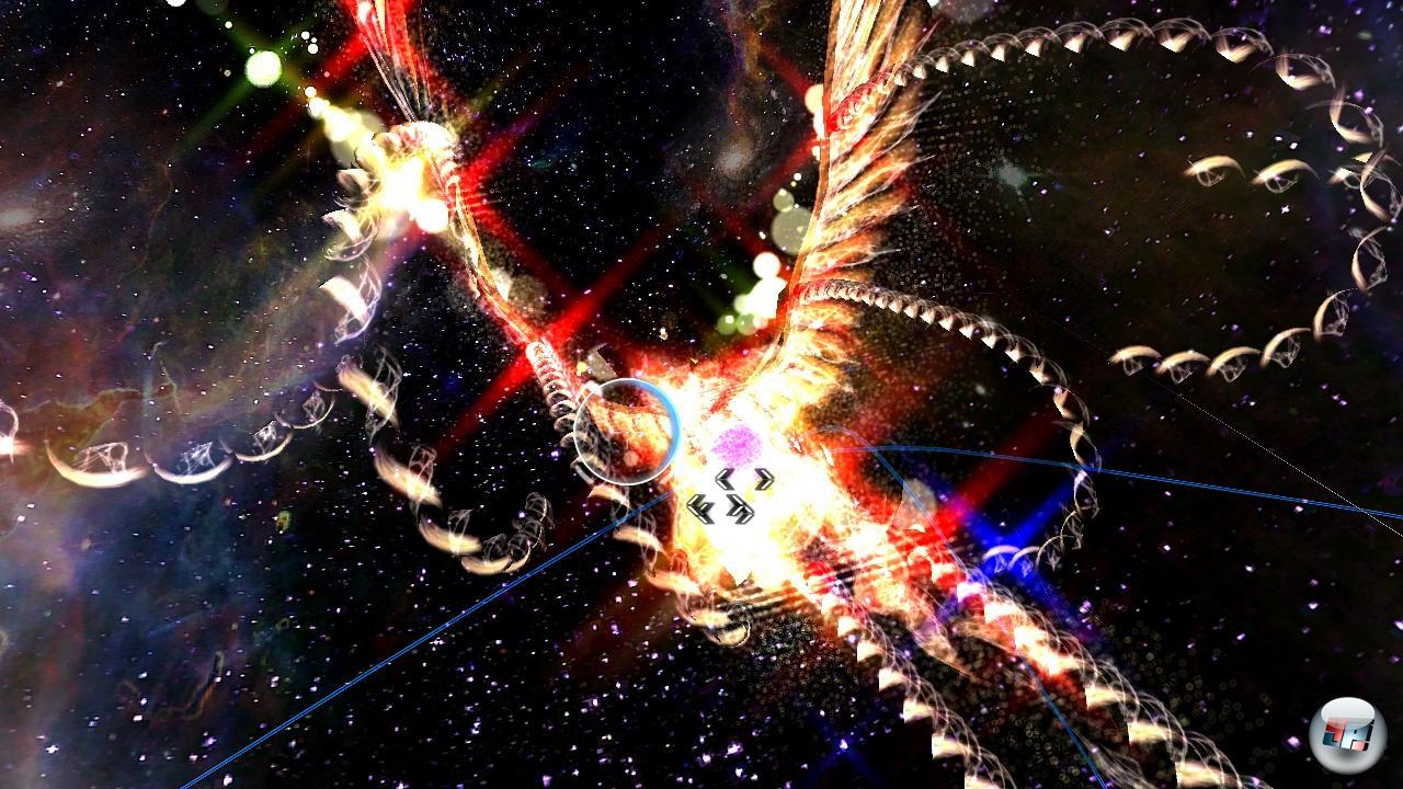 Der gigantische Feuervogel ist ein echtes visuelles Highlight.