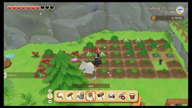 Screenshot - Story of Seasons: Pioneers of Olive Town (Switch)