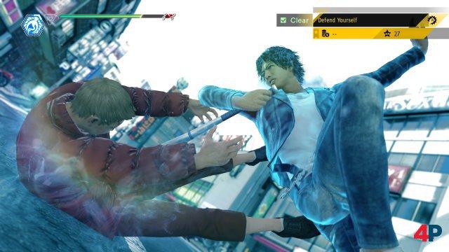 Takayuki hat vor allem akrobatisch was auf dem Kasten - Mr. Kiryu sonst aber sehr.