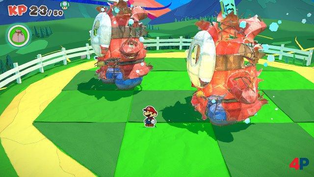 Screenshot - Paper Mario: The Origami King (Switch) 92619571
