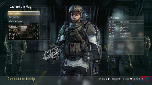 Virtuelles Schaulaufen: Die Spieler-Avatare können umfangreich angepasst werden.