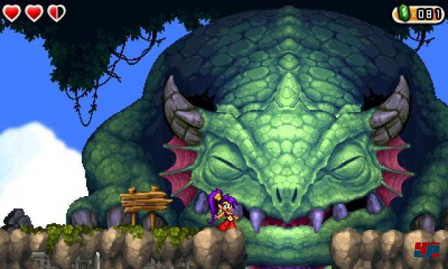 Screenshot - Shantae and the Pirate's Curse (3DS) 92500535