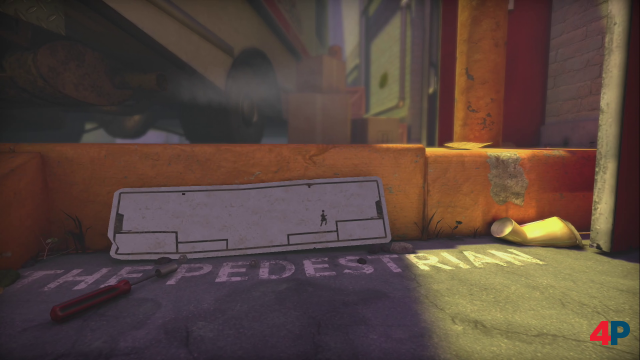 Screenshot - The Pedestrian (PC)